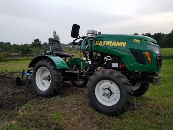 Минитрактор CATMANN MT-242