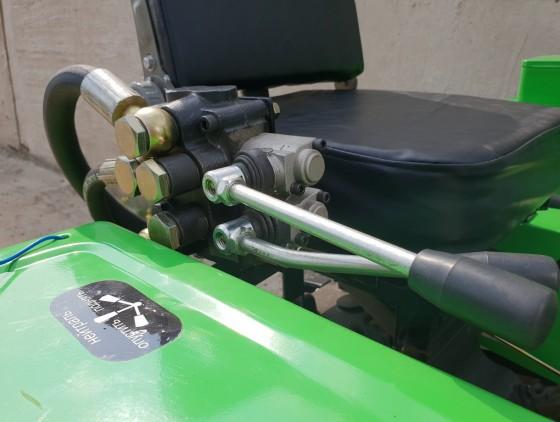 Минитрактор CATMANN MT-242 ECO-Line + фреза, плуг