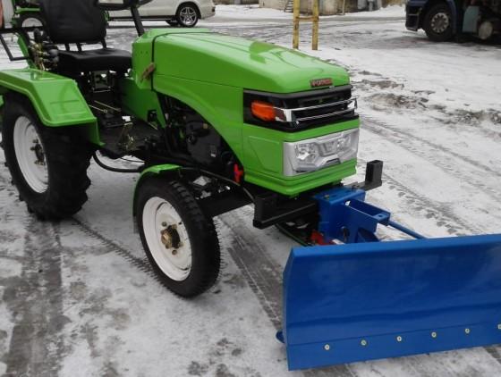 Отвал снеговой для минитракторов
