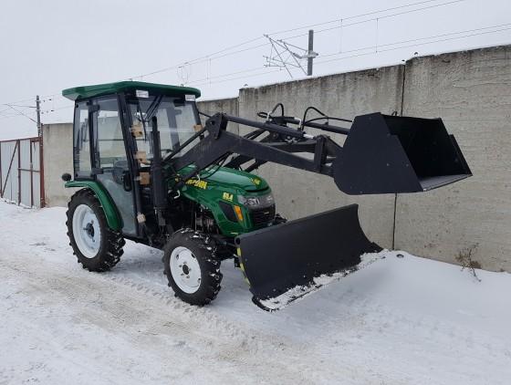 Отвал снеговой (оборудование бульдозерное) ОБ-1800