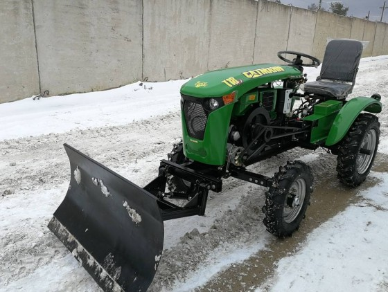 Отвал снеговой ОБ-1100